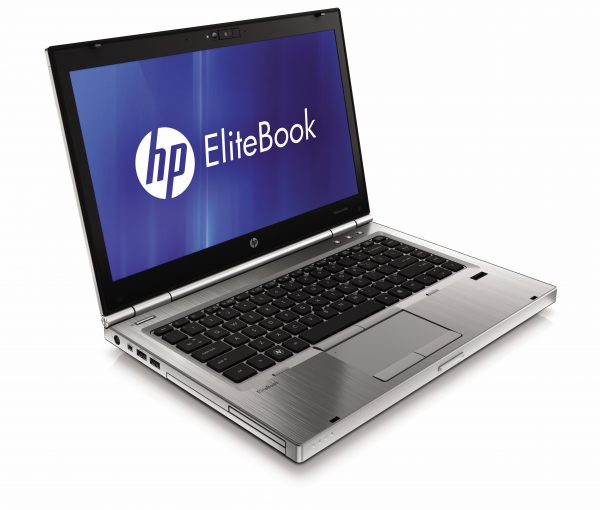 elitebook 8560p Laptop HP EliteBook 8560P, Sandy Bridge Intel Core i5-2520 – 2.5GHz, display 15.6″ LCD, RAM 4 GB DDR3, HDD 320 GB SATA, DVD-rw business HP-EliteBook-p-series_front-left-open-600x510